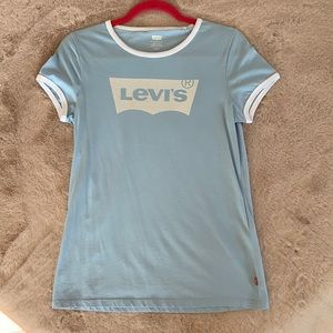NEW Levi's baby blue Tshirt, with tags